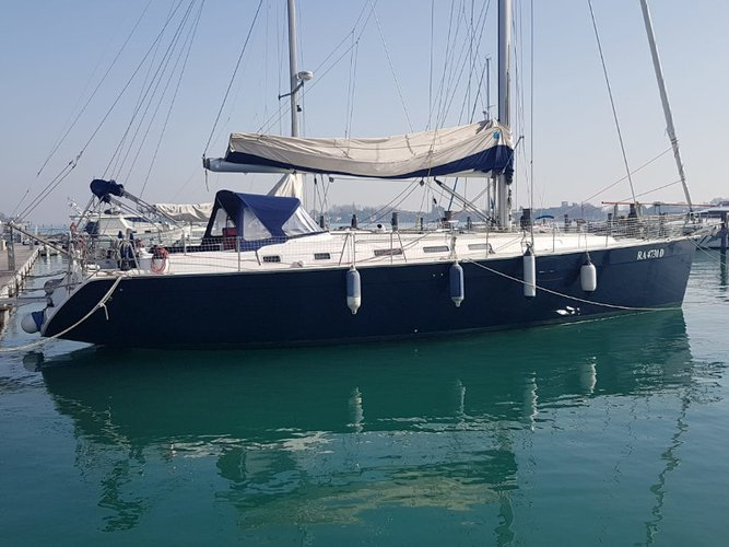 Experience Piombino, IT on board this amazing Beneteau Cyclades 50.5
