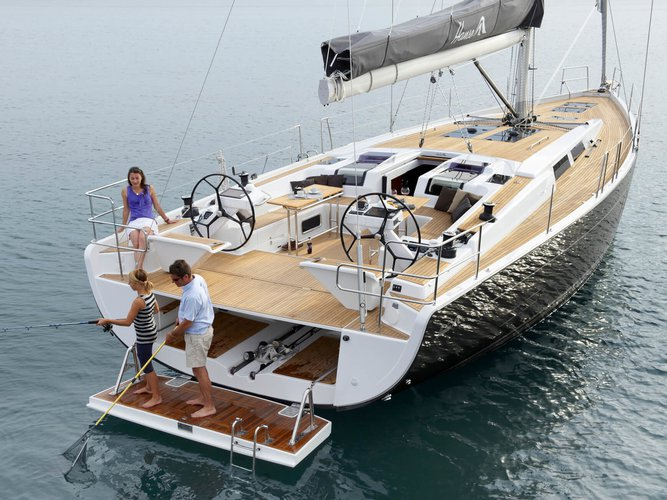 Take this Hanse Yachts Hanse 575 for a spin!