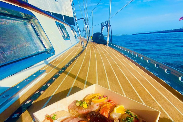 GOURMET SAILING EXPERIENCE (NEW TEAK DECKING IMPORTED FROM NORWAY!)