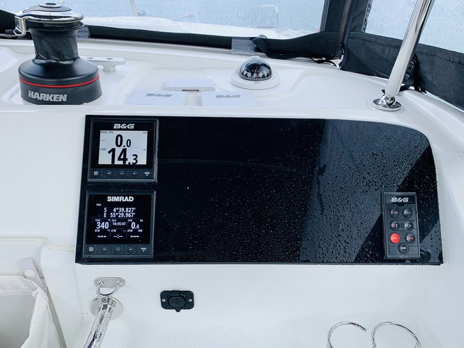 This sailboat charter is perfect to enjoy Pointe a Pitre