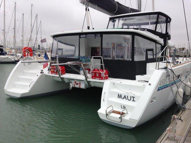 """Ship """"Maui"""" aft"""