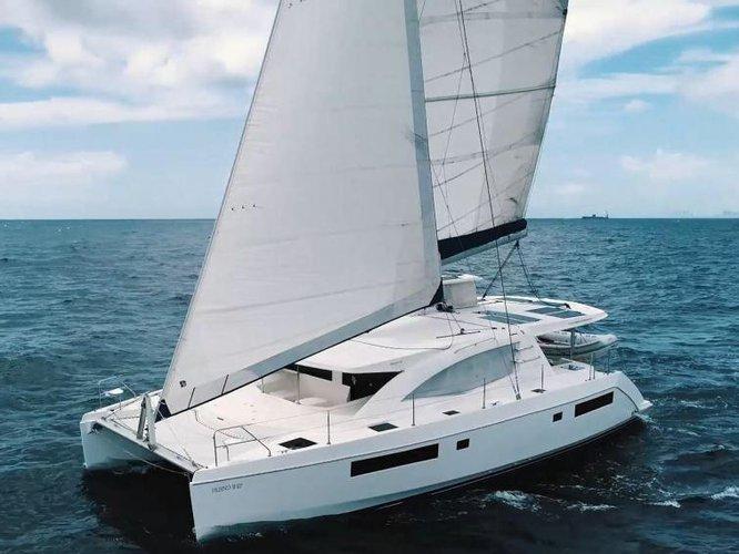 Charter this amazing Leopard Catamarans Leopard 48 in Göcek, TR