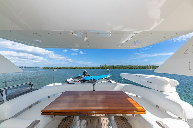 Boat for rent Aicon 75.0 feet in Harbor West Marina,