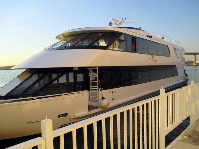 Motor yacht boat for rent in Hoboken
