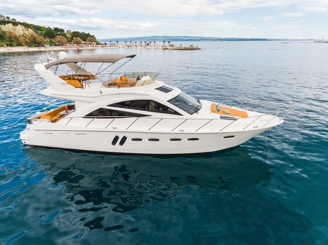 Experience  on board this elegant motor boat