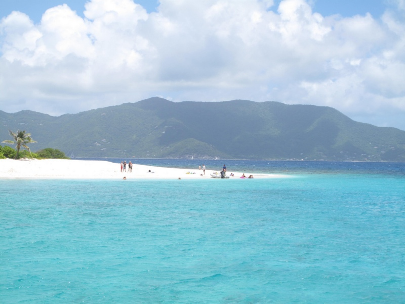 Caribbean-Sailing-Charters-Sandy-Spit-Island