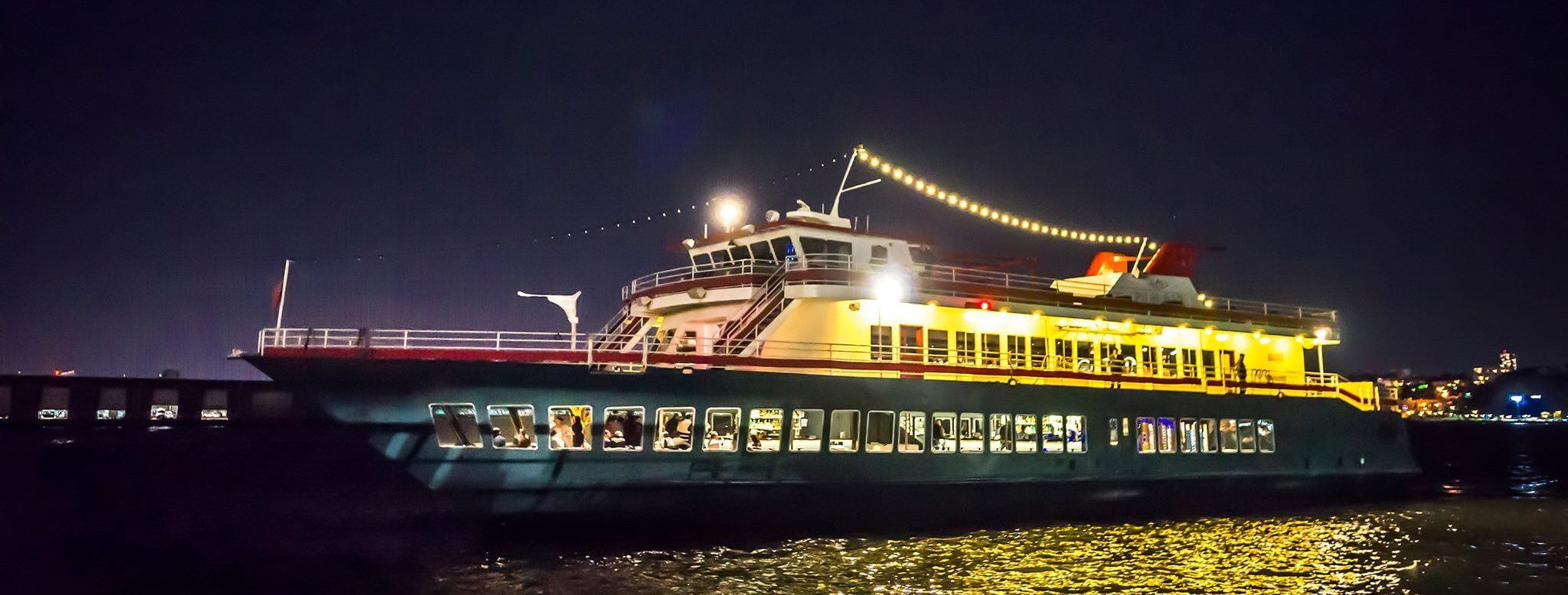 NEW YEAR'S EVE CRUISE FROM PIER 81