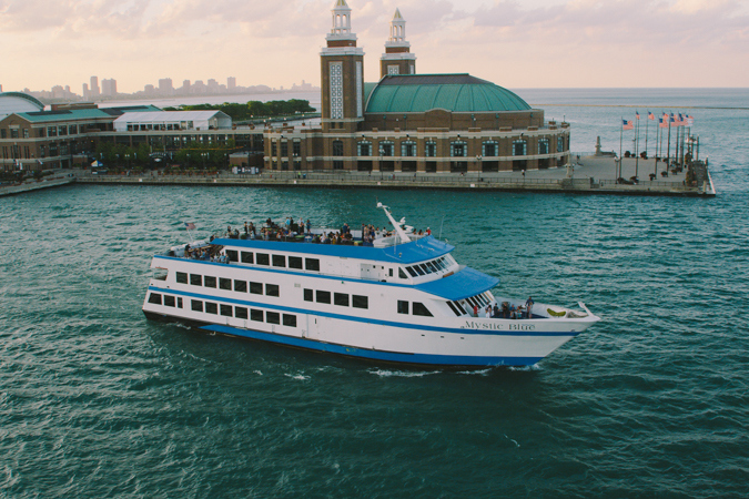 Chicago New Year's Eve Fireworks Buffet-Style Dinner Cruise