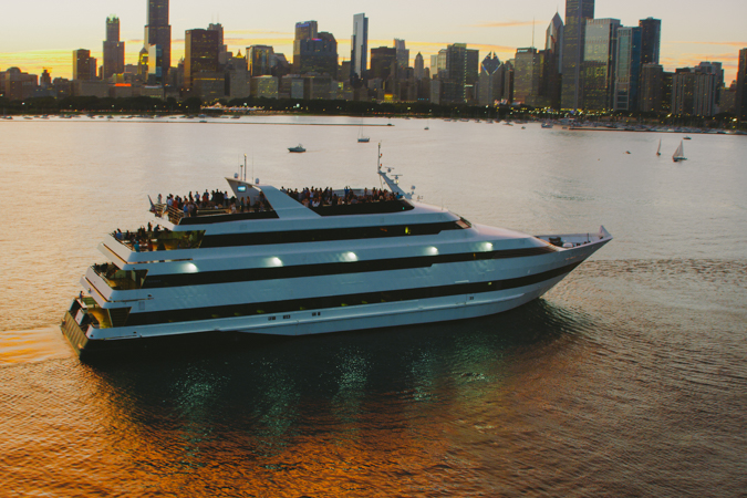 Lakefront Fireworks Elegant Dinner Cruise - July 4th, 2019