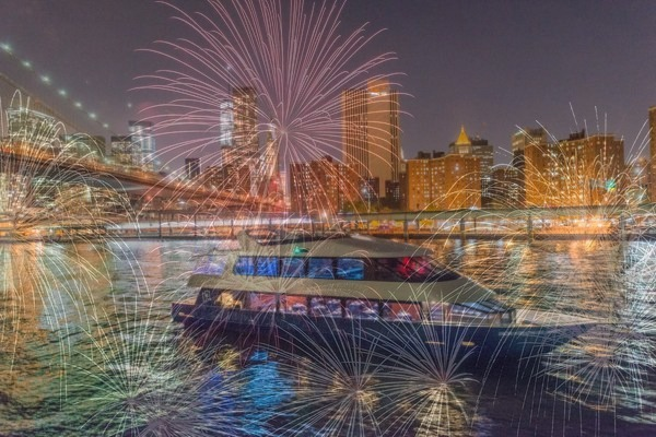 Premier 4th of July, 2019 Fireworks Cruise - New York